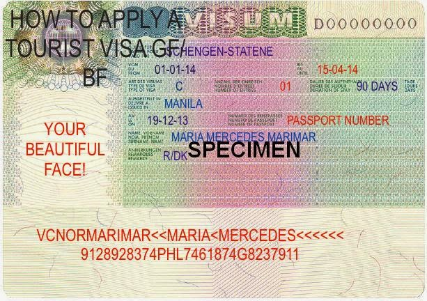 Philippine passport aapplying for a tourist visa to visit bf how to apply for a tourist visa in denmark how to invite gf in philippines stopboris Gallery